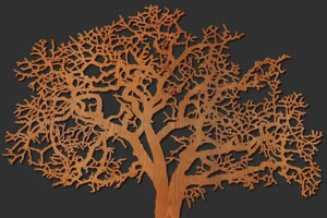 Laser wood cutting services in Toronto